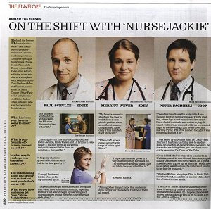 On the Shift with Nurse Jackie