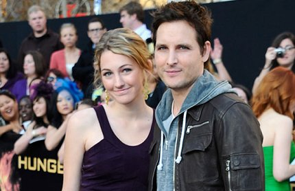Peter Facinelli at The Hunger Games Premiere